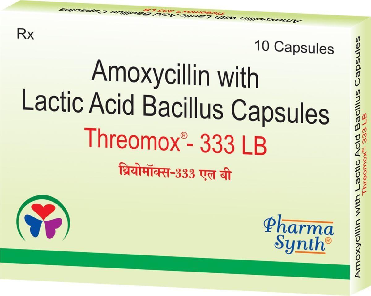 THREOMOX-333 LB CAPSULES
