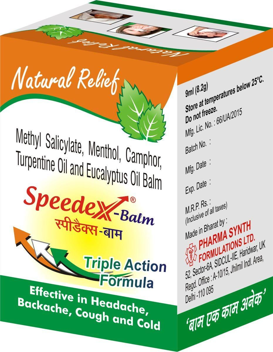Speedex-Balm | Muscle & Joint pain Reliver| Pharmasynth